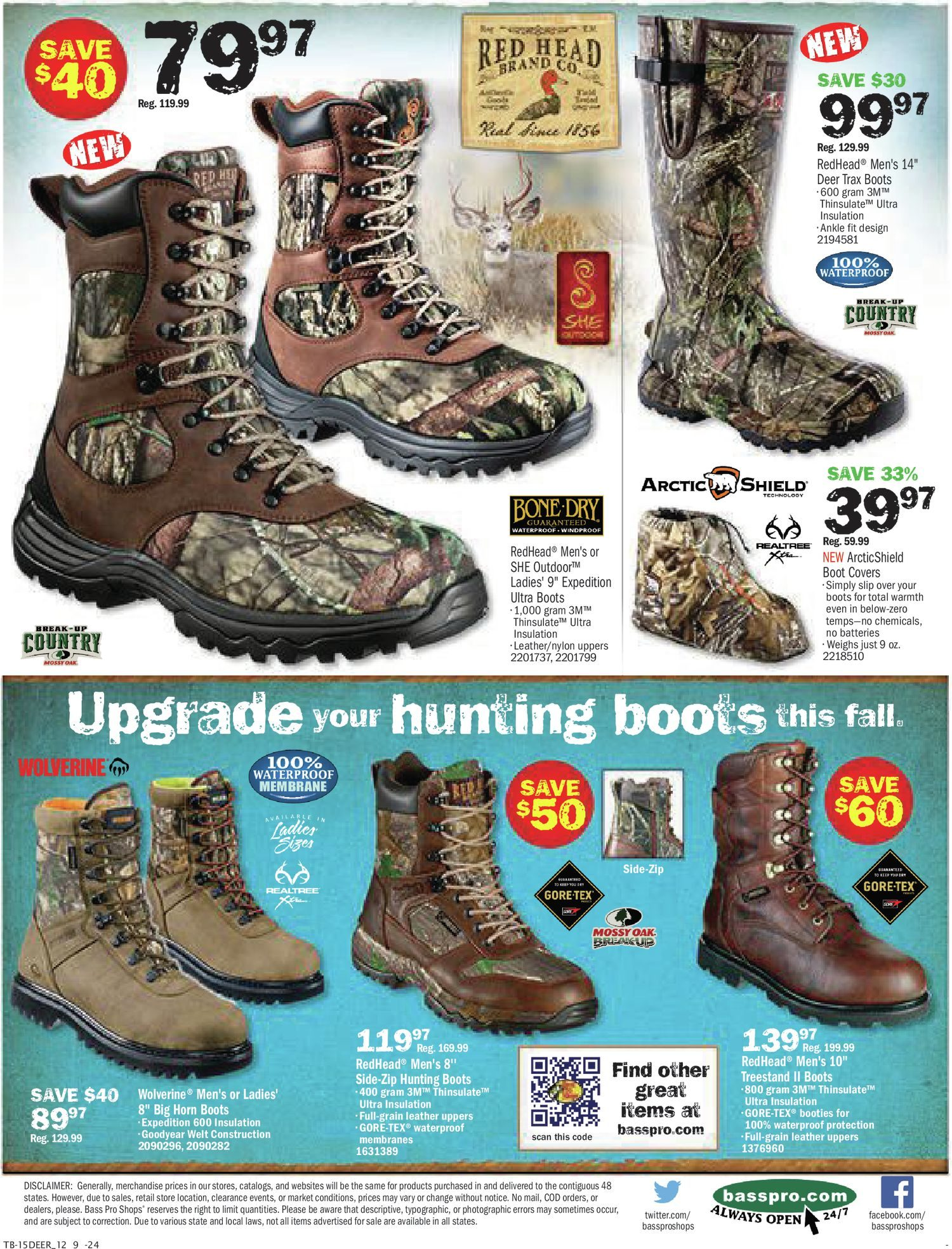 the best attitude 4d889 90739 Bass Pro Shops Weekly Flyer - Elk Hunting Sale! - Oct 5 ...