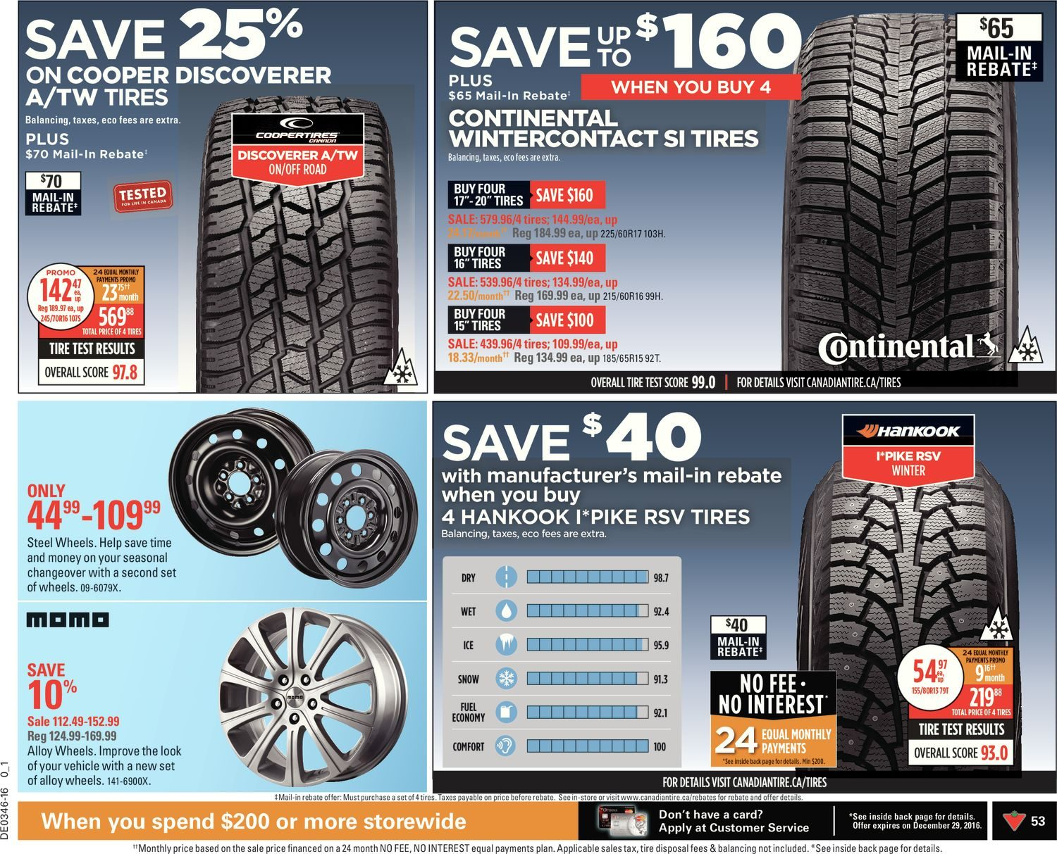 Canadian Tire Weekly Flyer - Weekly - Make It Bright - Nov 11 – 17 ...