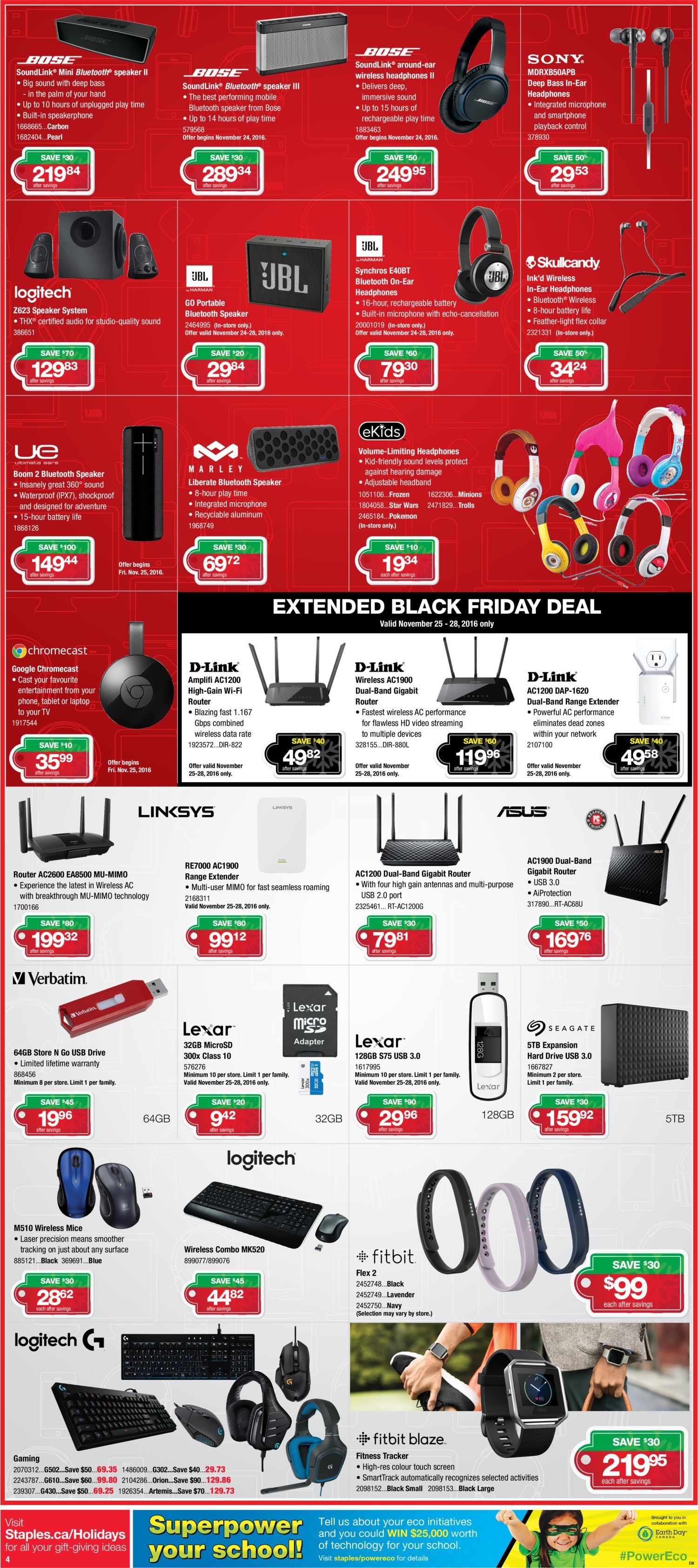89c7ac9f21f8 Staples Weekly Flyer - Make More Happen - Black Friday Sale - Nov 23 – 29 -  RedFlagDeals.com
