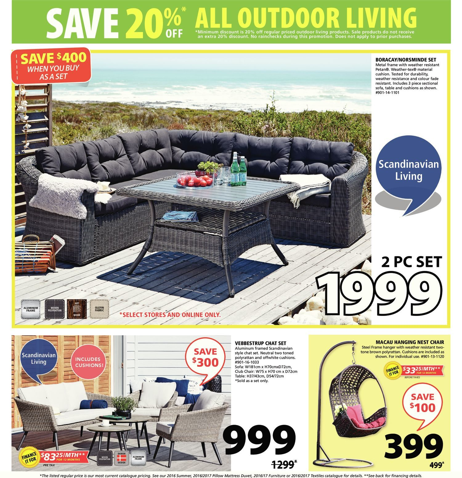 JYSK Weekly Flyer Weekly Outdoor Living May 18 – 24