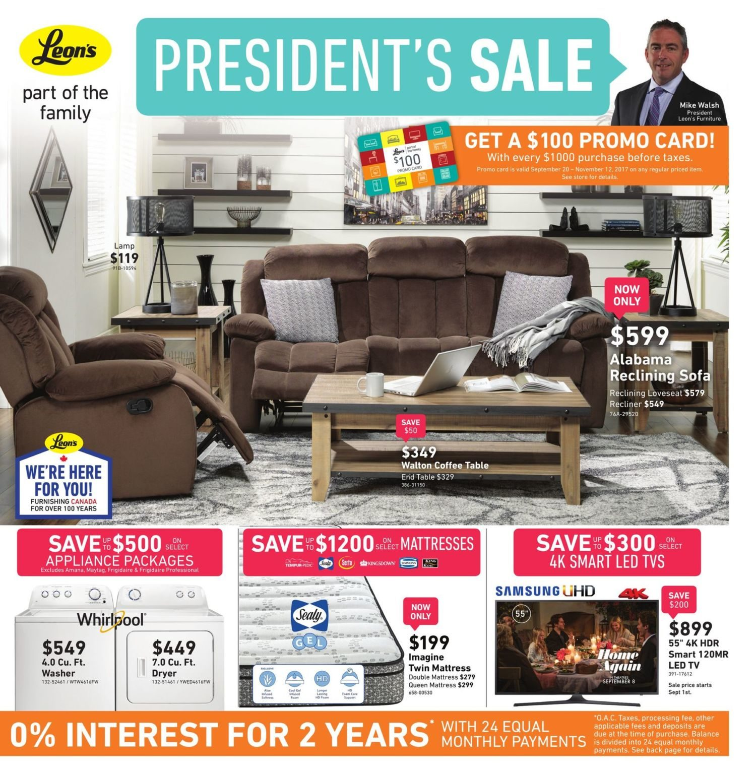 Leon S Weekly Flyer President Aug 23 Sep 6 Redflagdeals Com