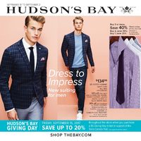 The Bay - Weekly - Dress to Impress Flyer