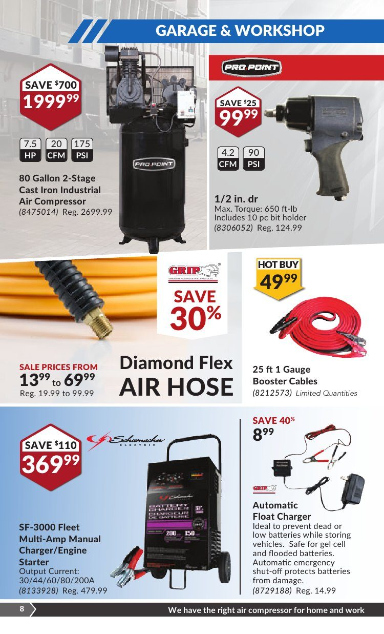 Princess Auto Weekly Flyer - Make It Work - Pick Your Fall