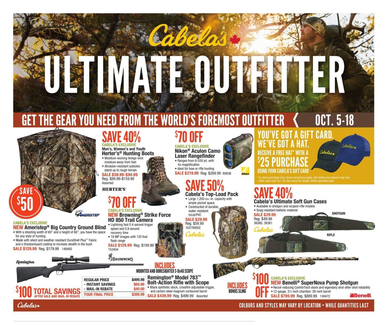 Cabelas Weekly Flyer - 2 Weeks of Savings - Ultimate