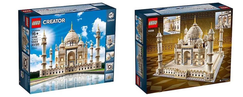 LEGO Opens the Vault and Re-Releases the Huge Taj Mahal Set