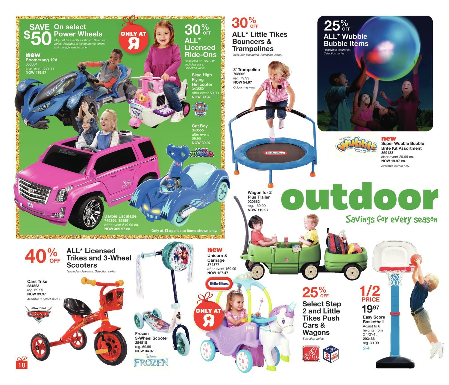 Toys R Us Weekly Flyer Holiplay Playbook Dec 8 14 Cozy Trike Wiring Diagram For