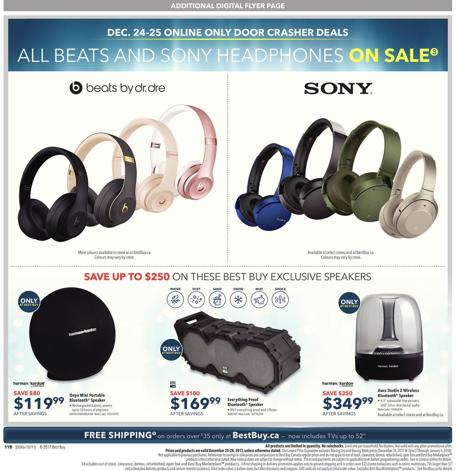 Best Buy Weekly Flyer Boxing Day Sale Dec 25 25 Redflagdeals Com