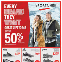 Sport Chek - Every Brand They Want - Great Gift Ideas Flyer