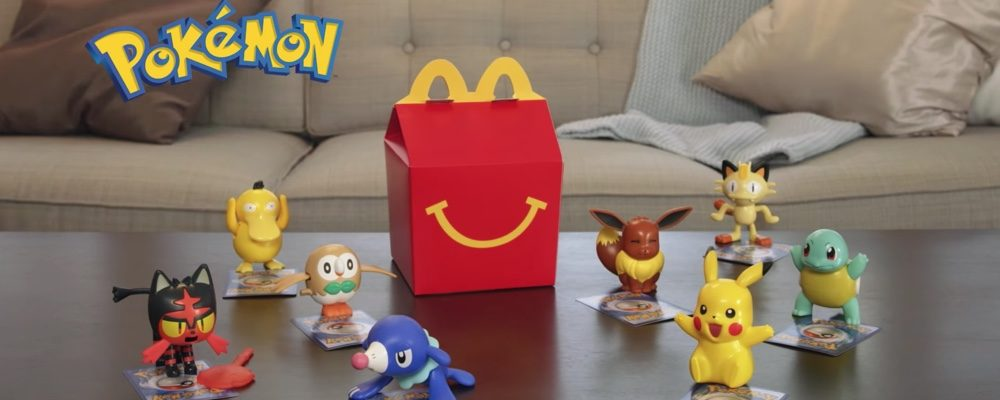 New Pokemon Happy Meal Toys Have Just Landed at McDonald's Canada