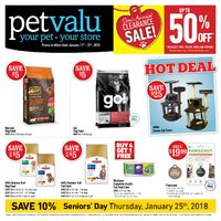 Pet Valu - Semi-Annual Clearance Sale! Flyer