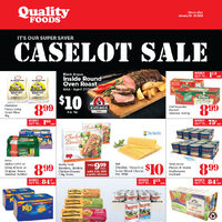 Quality Foods - Weekly Specials - Caselot Sale Flyer