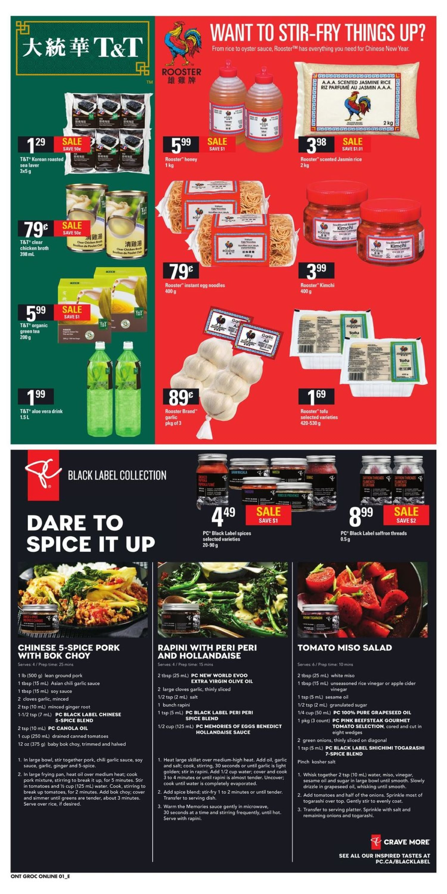 Your Independent Grocer Weekly Flyer The Oh Yes We Did Del Monte Sweet Chilli Sauce 340 Ml Event Jan 25 31