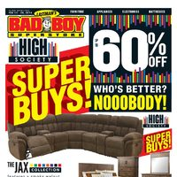 Bad Boy Furniture - Super Buys! Flyer