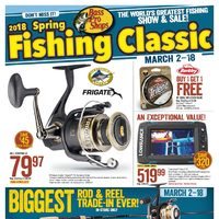 Bass Pro Shops - 2018 Spring Fishing Classic Flyer