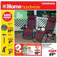 Home Hardware - Weekly - The Lawn & Garden Event Flyer