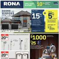 - Weekly - Doors and Windows Project Flyer