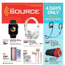 The Source - 3 Weeks of Savings - Top-Brand Tech For Summer Adventures Flyer
