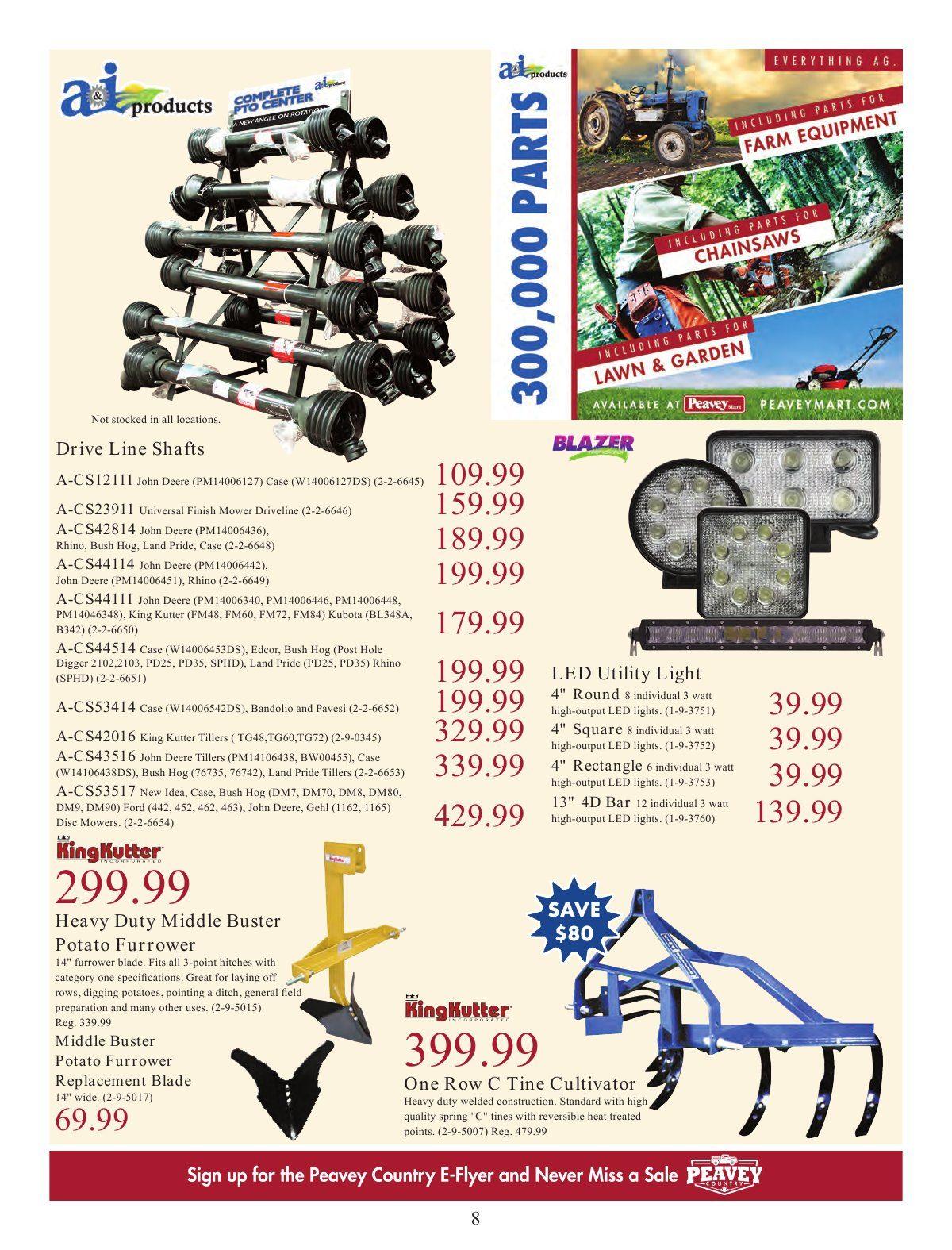 PeaveyMart Weekly Flyer - Field Ready - Jul 2 – Aug 25
