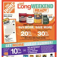 - Weekly Specials - Get Long Weekend Ready Flyer