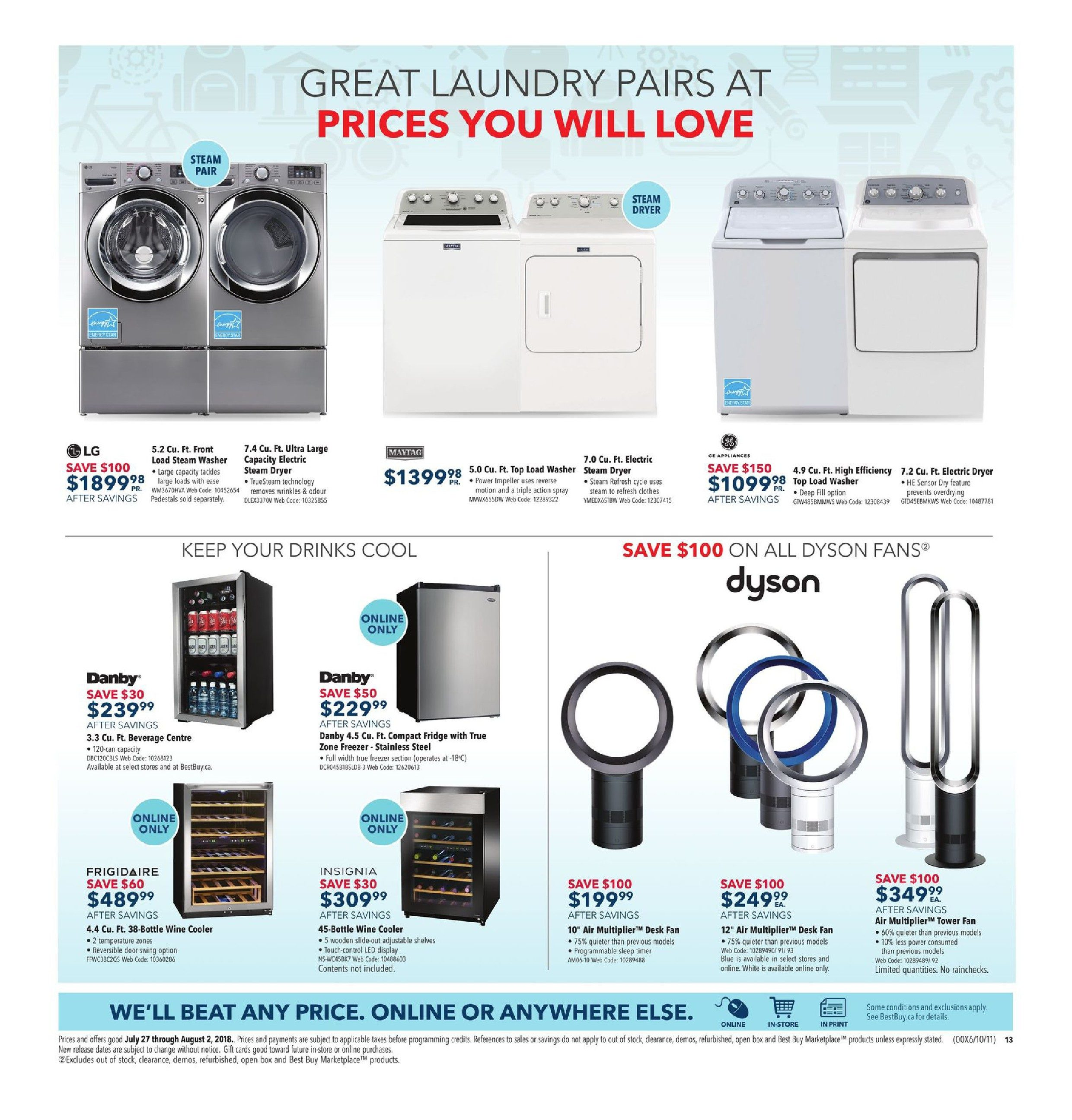 Best Buy Weekly Flyer Rule Back To School Jul 27 Aug Thread Fixed Kenmore 80 Series Electric Dryer Heating But Not 2