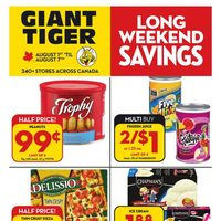 - Weekly - Long Weekend Savings Flyer