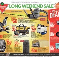 Canadian tire flyer mississauga on redflagdeals weekly long weekend sale flyer keyboard keysfo Images