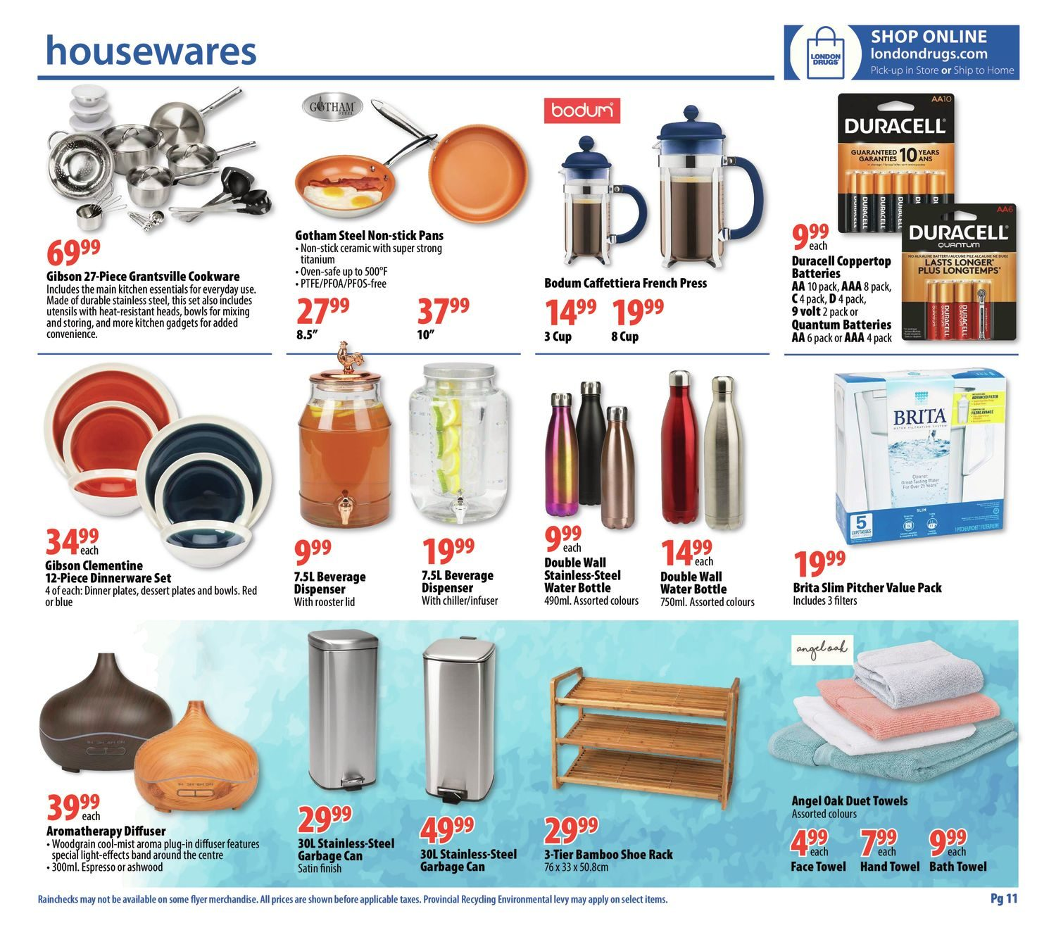 London Drugs Weekly Flyer Stock Up For Back To School Aug 30 Locklock Fridge Door Jug 11l Abf732 Sep 5