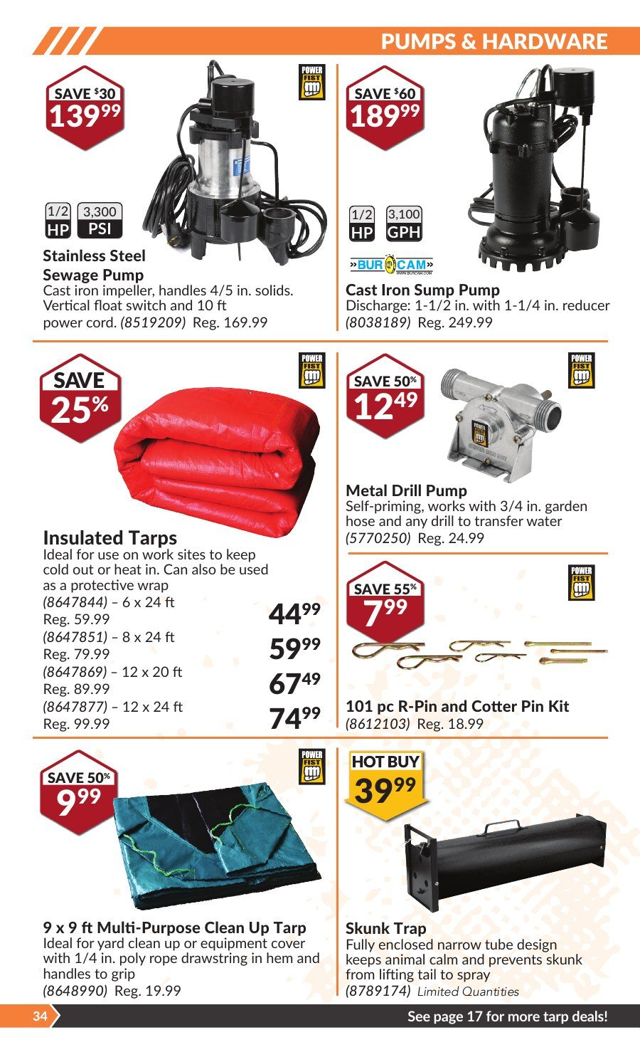 Princess Auto Weekly Flyer - Hot Deals For Fall - Oct 2 – 14