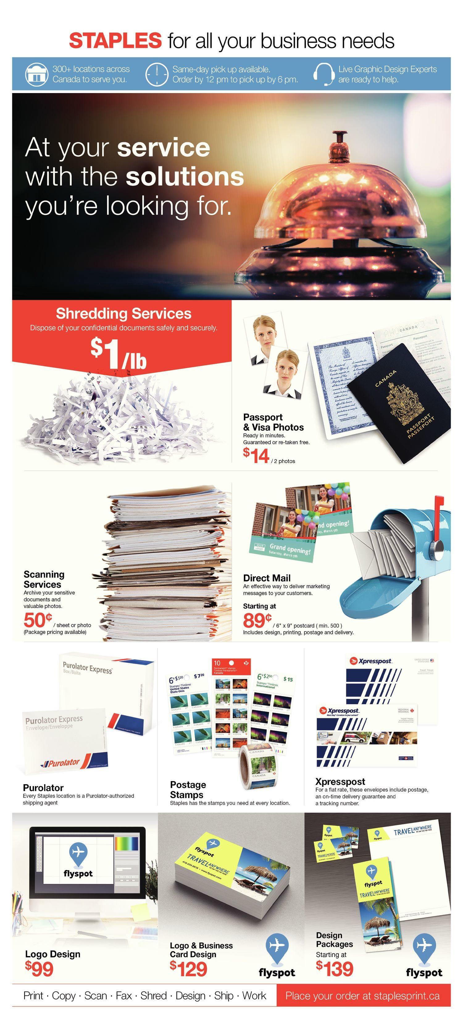 9c05d6de3c2 Staples Weekly Flyer - 2 Weeks of Anniversary Savings - Oct 10 – 23 -  RedFlagDeals.com