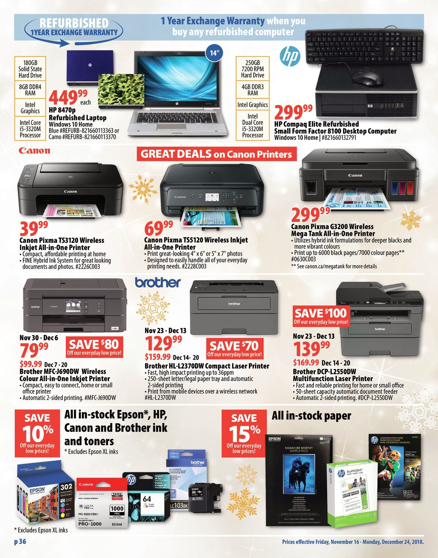 London Drugs Weekly Flyer - All Your Christmas Gifts - Nov 16 – 24