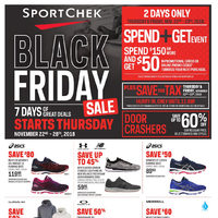 Sport Chek - Black Friday Sale Flyer