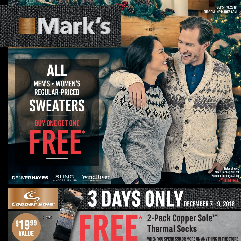Weekly Mark's Days 5 Dec Flyer – 10 6 Savings Of 1w6wqC