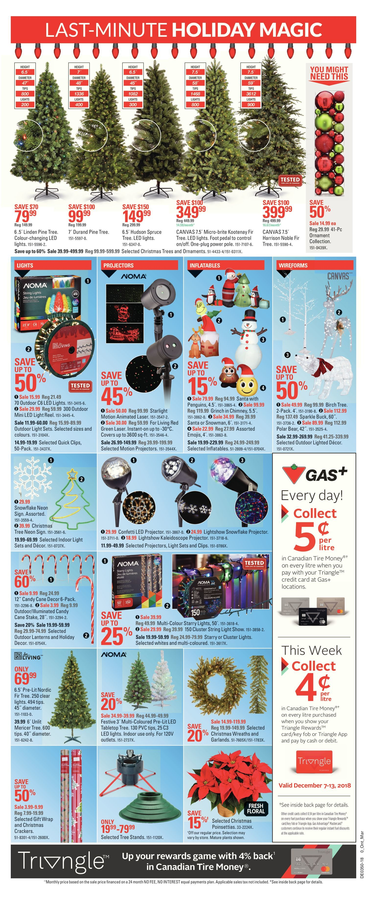 Canadian Tire Weekly Flyer Weekly Canada S Christmas Store Dec
