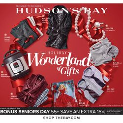 The Bay - Weekly - Holiday Wonderland of Gifts Flyer