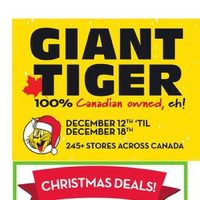 Giant Tiger - Weekly - Holiday Savings Flyer