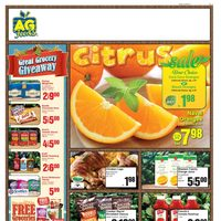 AG Foods - Weekly - Citrus Sale Flyer