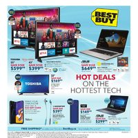 Best Buy - Weekly - Hot Deals on The Hottest Tech Flyer