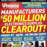 - Weekly - Manufacturers $50 Million Electronics Surplus Clearout! Flyer