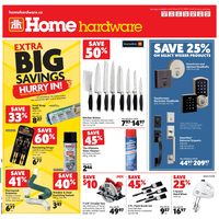 Home Hardware - Weekly - Extra Big Savings Flyer