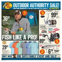 Bass Pro Shops - Outdoor Authority Sale! Flyer