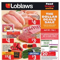 Loblaws - Weekly - The Dollar Deals Sale Flyer