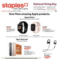 Staples - Weekly - Monitor Event  Flyer