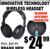 Innovative Technology Wireless Headset