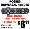 Rogers Universal Remote