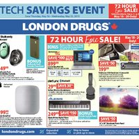 London Drugs - Tech Savings Event Flyer