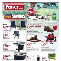 PeaveyMart - Long Weekend Savings Flyer