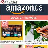 Amazon Canada - Deals of The Week Flyer