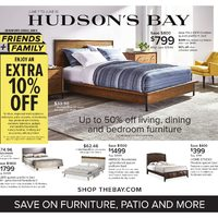 - Save On Furniture, Patio & More Flyer