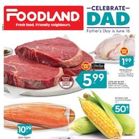 Foodland - Weekly - Celebrate Dad Flyer