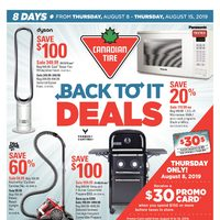 - 8 Days of Savings - Back To It Deals Flyer